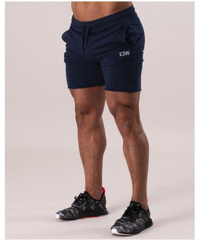 ICIW Clean Cut Shorts Navy-ICIW-Gym Wear