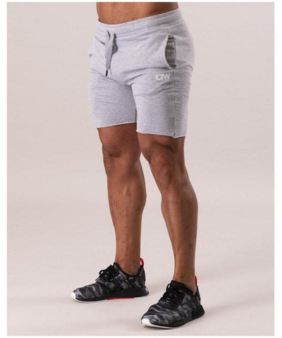 ICIW Clean Cut Shorts Grey-ICIW-Gym Wear