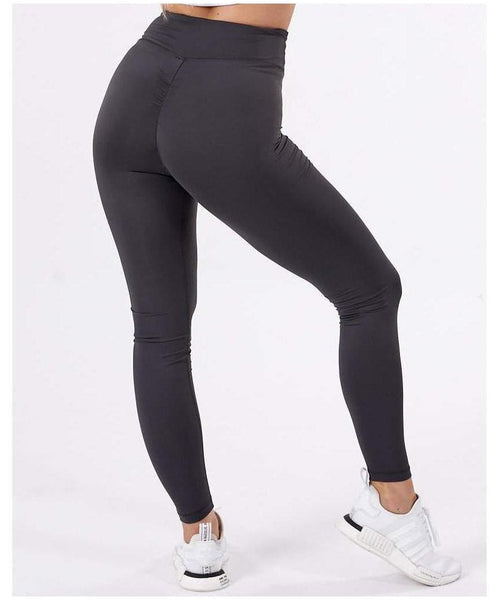 ICIW Scrunch Bum High Waisted Leggings Charcoal