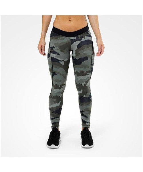 Better Bodies Camo Print Leggings-Better Bodies-Gym Wear