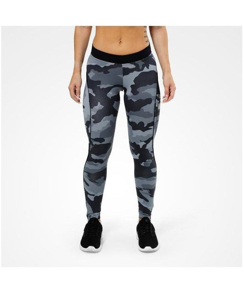 Better Bodies Grey Camo Print Leggings-Better Bodies-Gym Wear