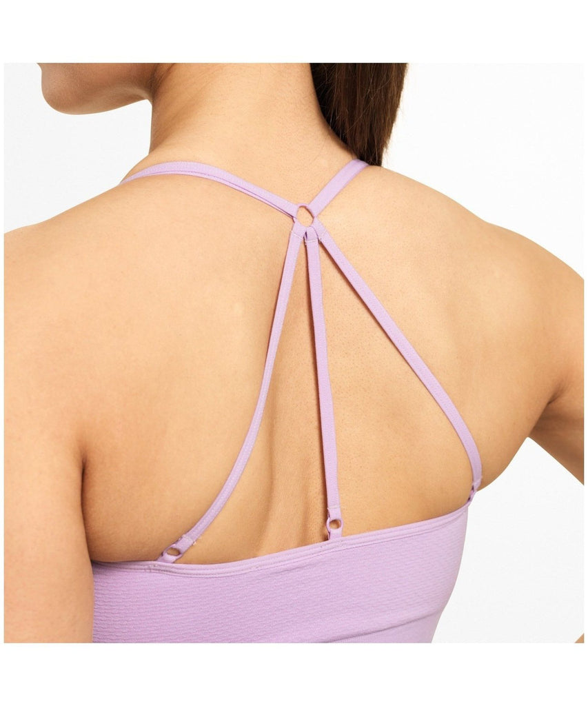 Better Bodies Astoria Seamless Sports Bra Lilac-Better Bodies-Gym Wear