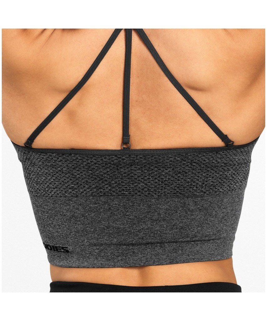 Better Bodies Astoria Seamless Sports Bra Grey