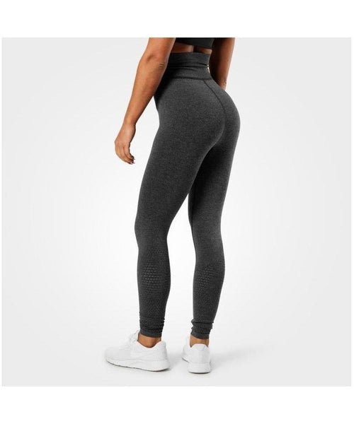 Better Bodies Bowery High Waisted Leggings Dark Grey-Better Bodies-Gym Wear