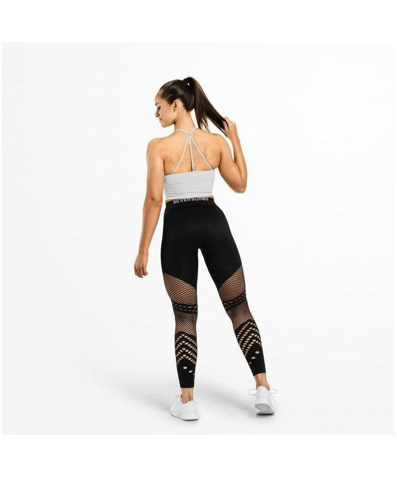 Better Bodies Waverly High Waisted Leggings Black-Better Bodies-Gym Wear