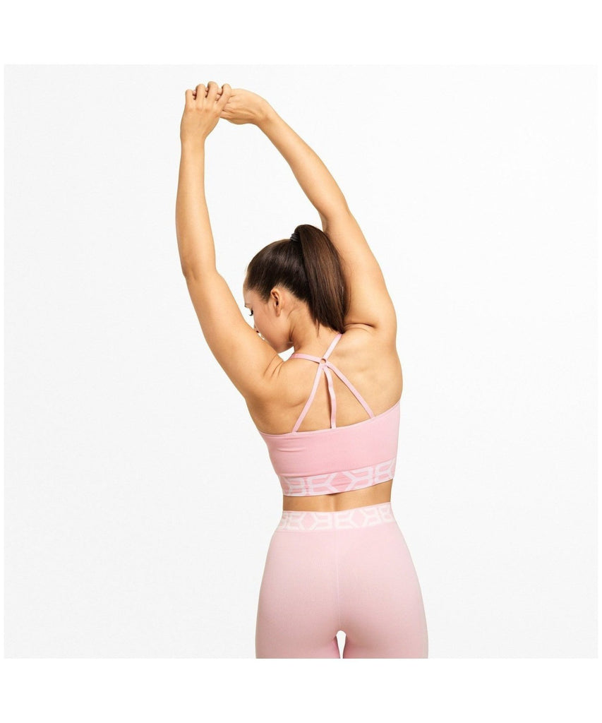 Better Bodies Sugar Hill Seamless Sports Bra Pink