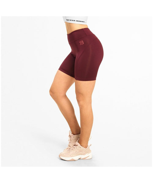 Better Bodies Chrystie Shorts Maroon