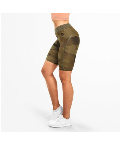 Better Bodies Chelsea Shorts Green Camo-Better Bodies-Gym Wear