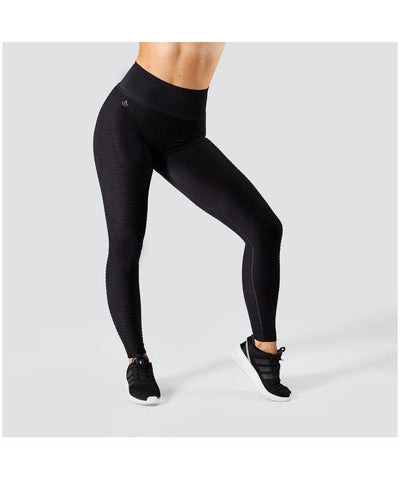 Workout Empire Regalia Flow High Waisted Leggings Black-Workout Empire-Gym Wear