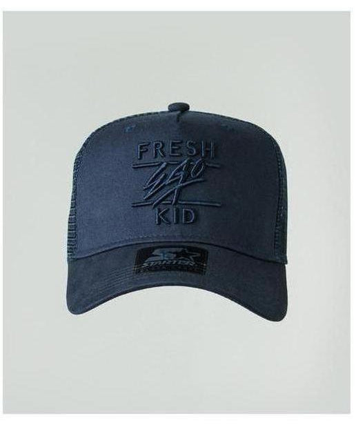 Fresh Ego Kid Mesh Trucker Cap Navy