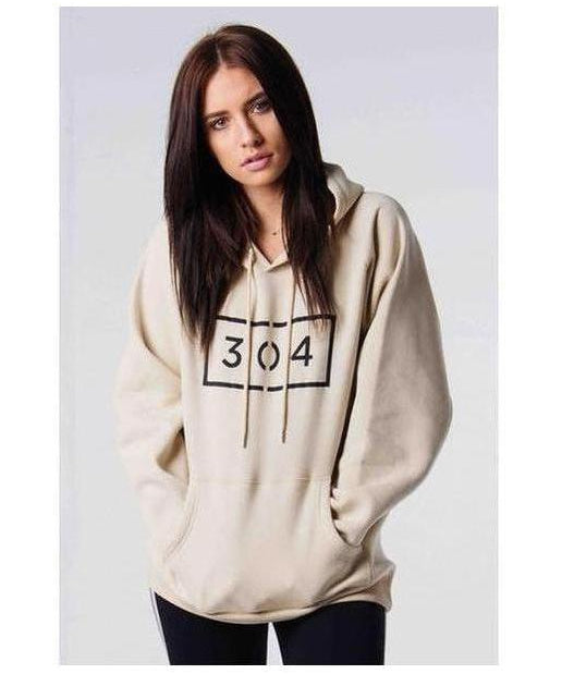 Image of 304 Clothing Womens Hero Hoodie Cream