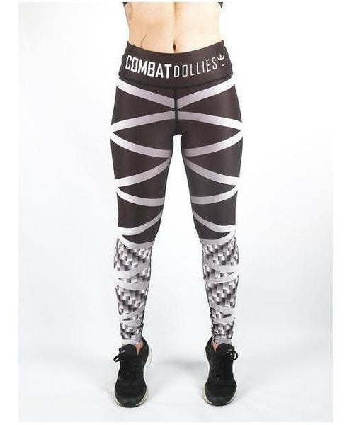 Combat Dollies Carbon Steel Fitness Leggings