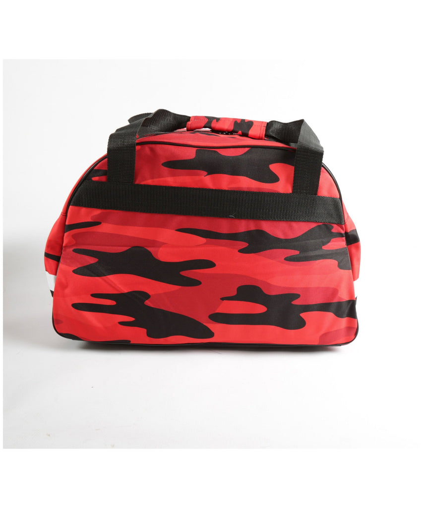 Combat Dollies Red Camo Sports Bag-Combat Dollies-Gym Wear