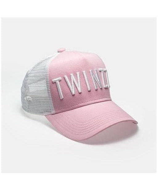 Image of Twinzz 3D Mesh Trucker Cap Pink/White