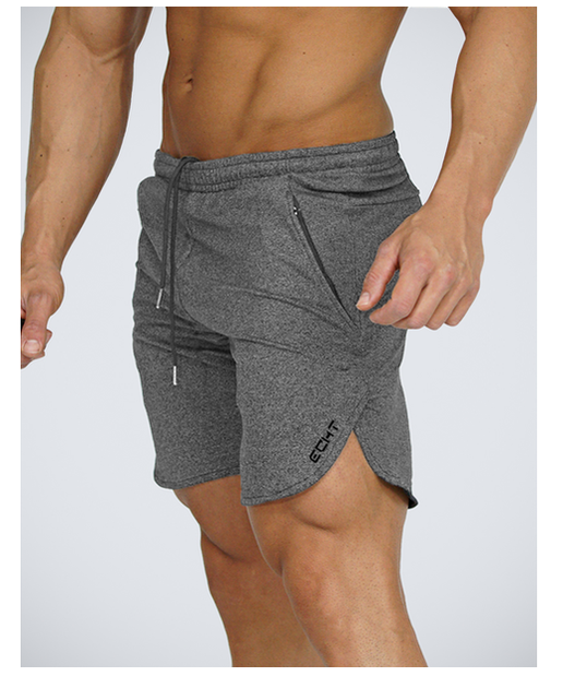Echt Impetus Knit Shorts Storm Grey-Echt-Gym Wear