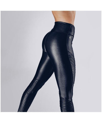 Workout Empire Regalia Shine Leggings Black-Workout Empire-Gym Wear