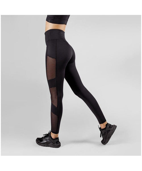 Workout Empire Amaze High waisted Leggings Black-Workout Empire-Gym Wear