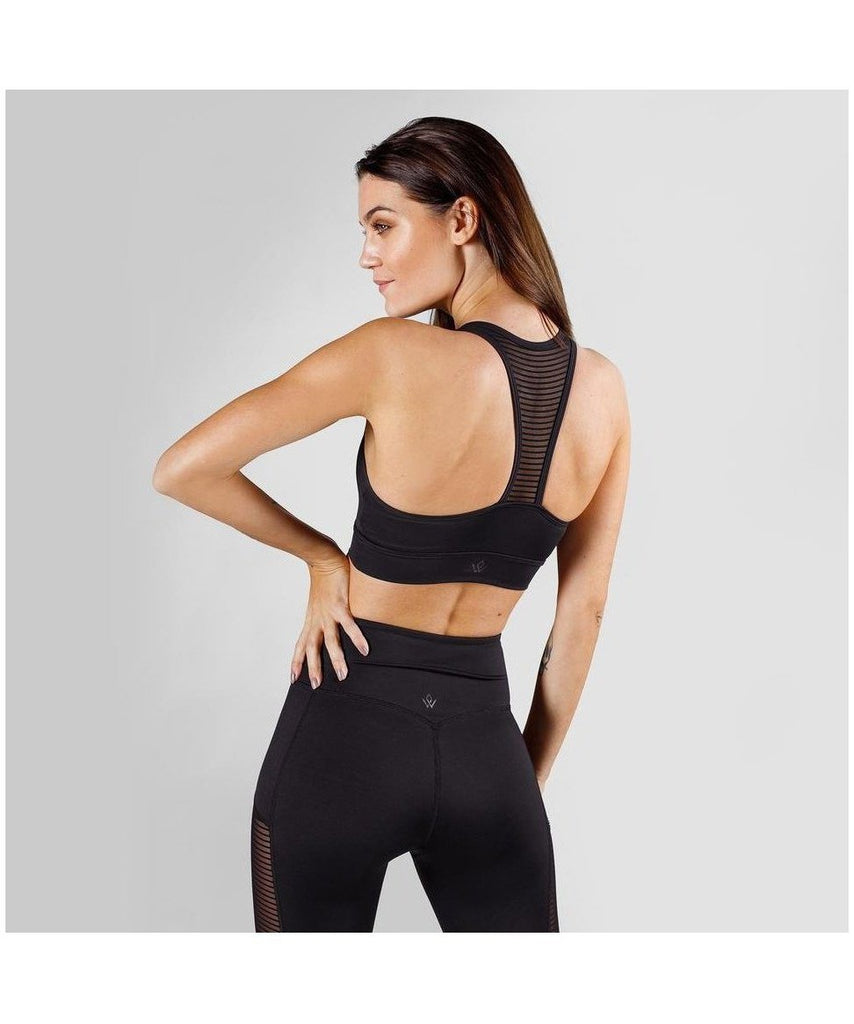 Workout Empire Amaze Sports Bra Black-Workout Empire-Gym Wear