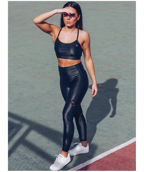 Workout Empire Power by Herrstedt Shine Sports Bra-Workout Empire-Gym Wear