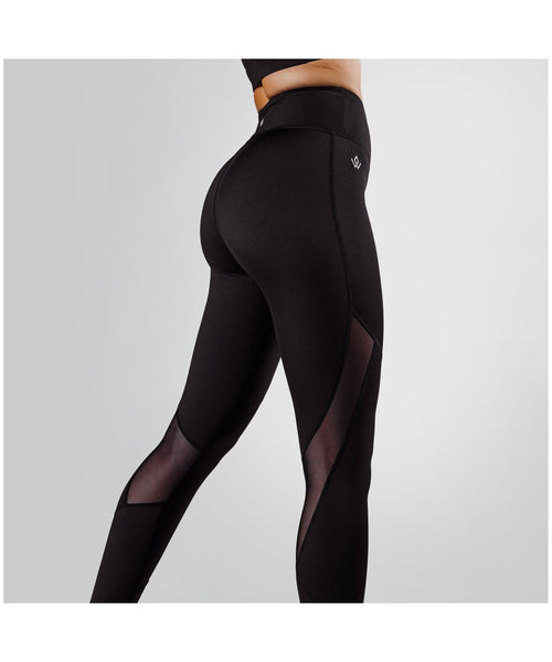 Workout Empire Core Tech Leggings Black-Workout Empire-Gym Wear