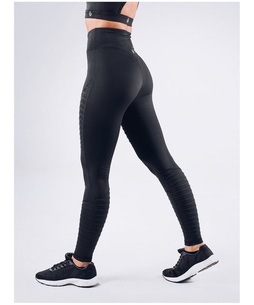 Workout Empire Regalia Curve High Waisted Leggings Black-Workout Empire-Gym Wear
