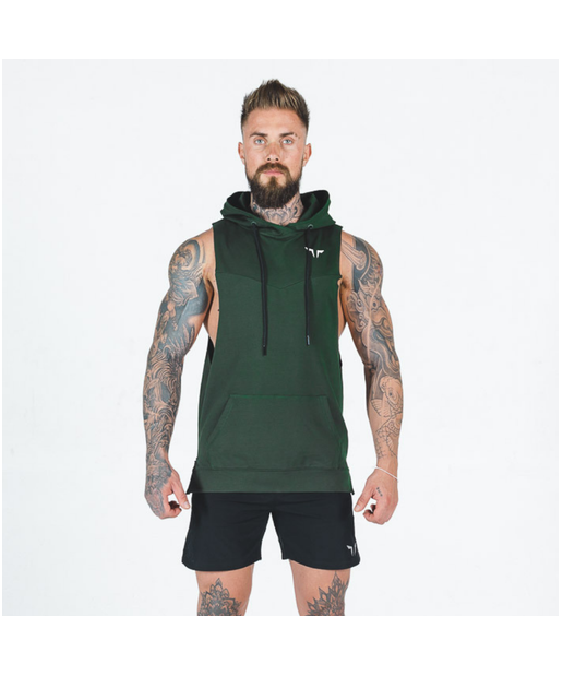 Squat Wolf Adonis Hoodie Olive Green-Squat Wolf-Gym Wear