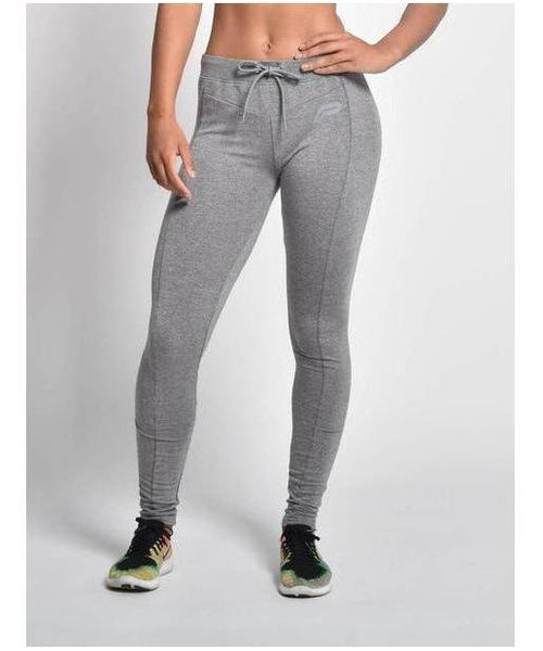 Pursue Fitness Slim Stretch Joggers Grey-Pursue Fitness-Gym Wear