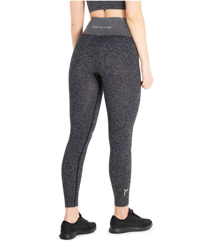Famme Essential Seamless High Waisted Leggings Charcoal