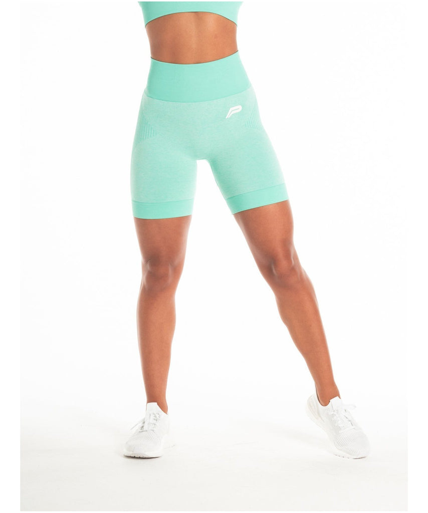 Pursue Fitness ADAPT Seamless Shorts Teal