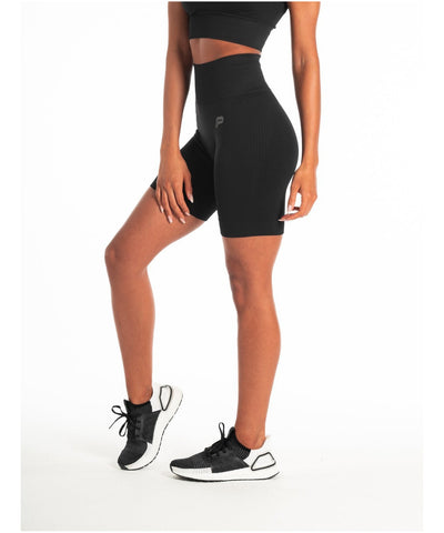 Pursue Fitness ADAPT Seamless Shorts Blackout-Pursue Fitness-Gym Wear