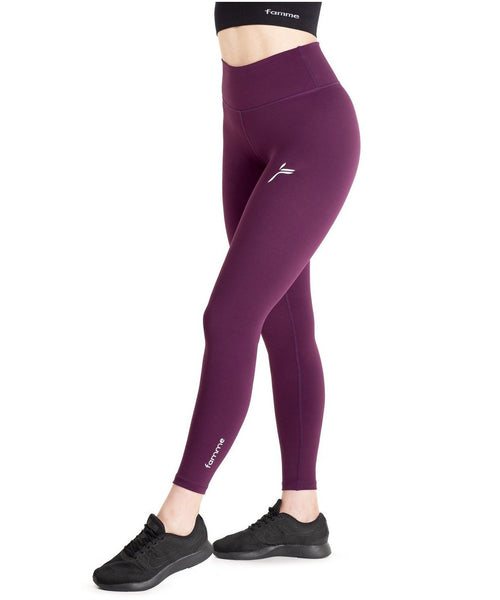 Famme Essential High Waisted Leggings Fig