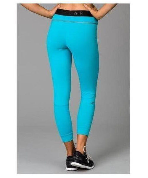 Fitwear Vivid Leggings Turquoise-Fitwear-Gym Wear