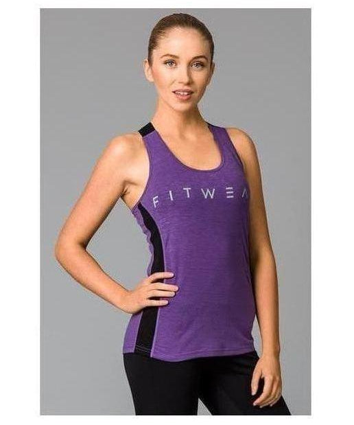 Image of Fitwear Sweat Less Sport Vest Lilac