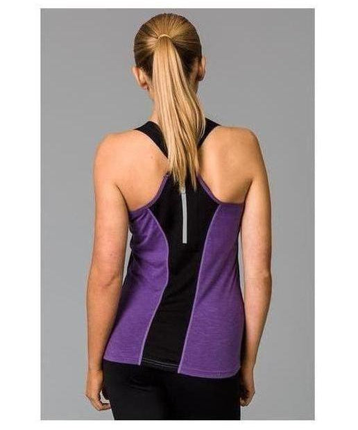 Fitwear Sweat Less Sport Vest Lilac-Fitwear-Gym Wear