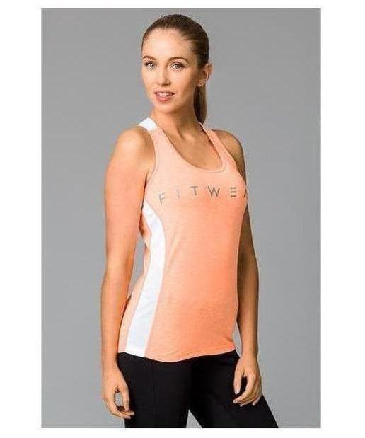 Image of Fitwear Sweat Less Sport Vest Orange