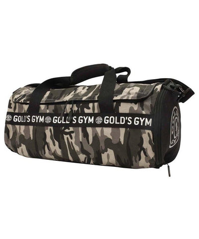 Gold's Gym Barrel Sports Bag Camo-Golds Gym-Gym Wear