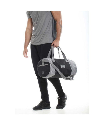 Gold's Gym Contrast Barrel Bag-Golds Gym-Gym Wear