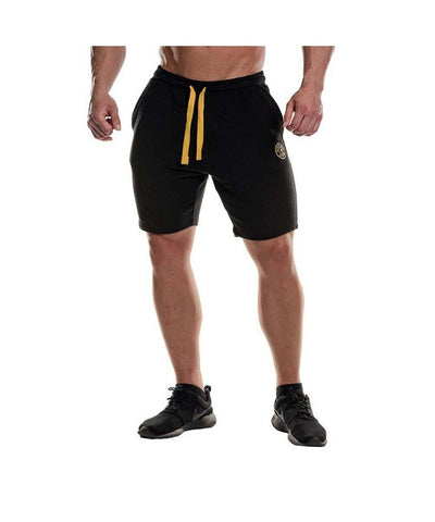 Gold's Gym Sweat Shorts Black-Golds Gym-Gym Wear