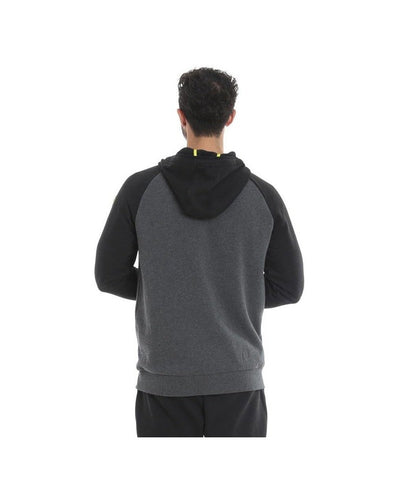 Gold's Gym Embossed Hoodie Grey/Black-Golds Gym-Gym Wear