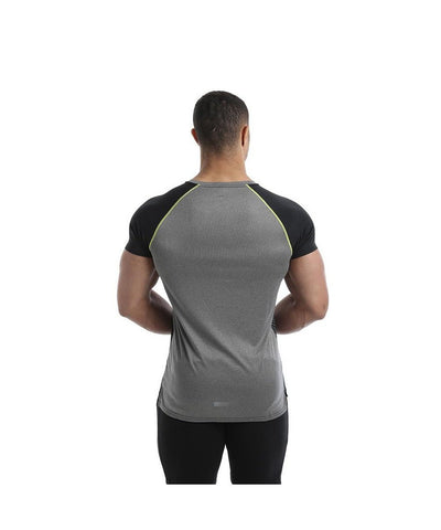 Gold's Gym Infinity Performance T-Shirt Black-Golds Gym-Gym Wear
