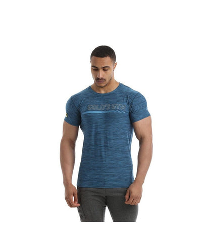 Gold's Gym Men's Performance Gradient T-Shirt Blue-Golds Gym-Gym Wear