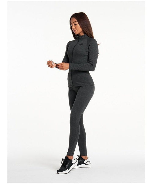 Pursue Fitness ProFit Jacket 002 Charcoal-Pursue Fitness-Gym Wear