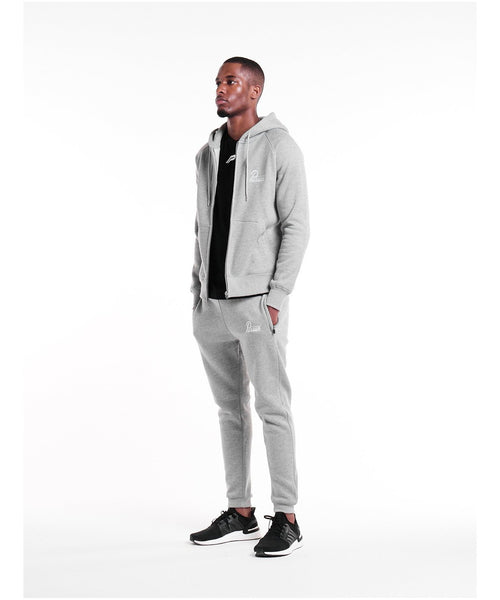 Pursue Fitness Classic Zip Up Hoodie 4.0 Grey