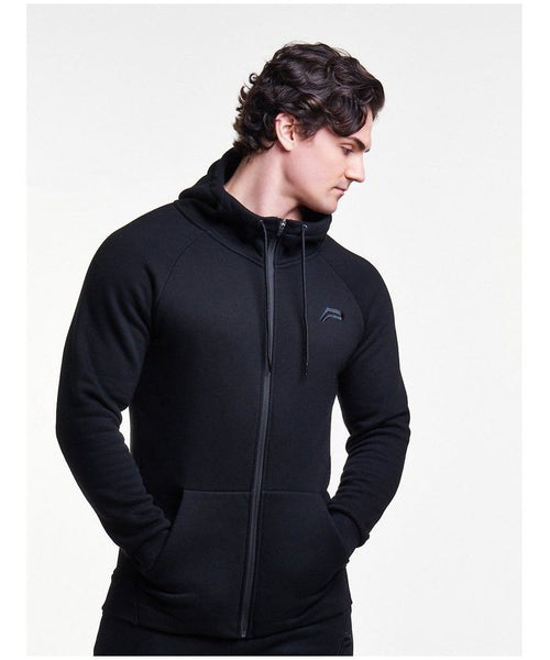 Pursue Fitness Icon Tapered Hoodie Black-Pursue Fitness-Gym Wear
