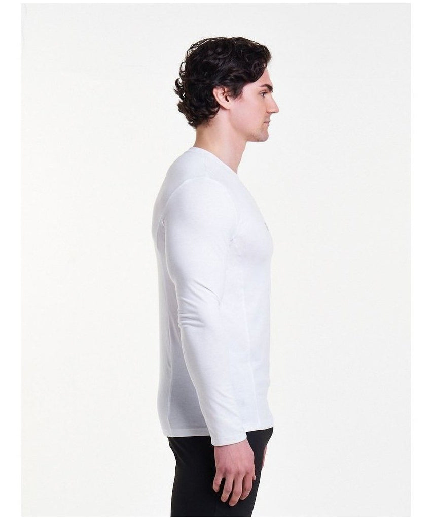 Pursue Fitness Essential Long sleeve T-Shirt White