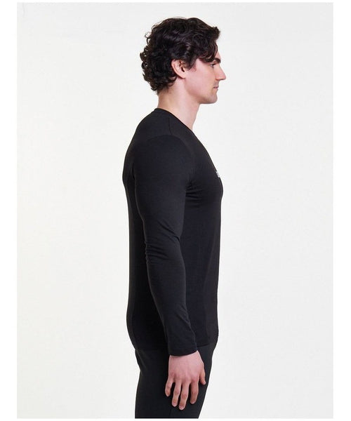 Pursue Fitness Essential Long sleeve T-Shirt Black-Pursue Fitness-Gym Wear