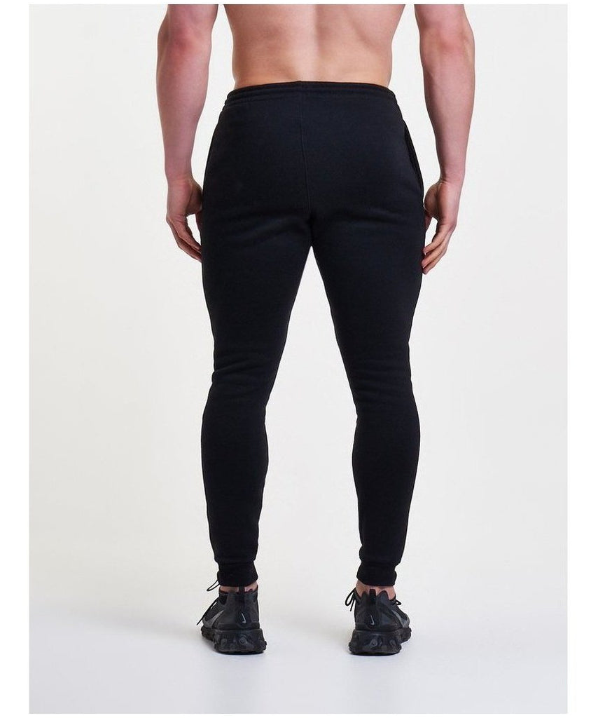 Pursue Fitness Icon Tapered Joggers Black-Pursue Fitness-Gym Wear