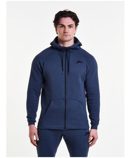 Pursue Fitness Icon Tapered Hoodie Navy-Pursue Fitness-Gym Wear