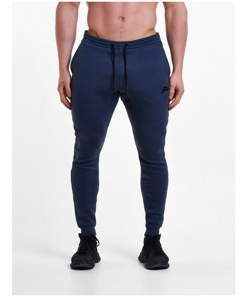 Pursue Fitness Icon Tapered Joggers Navy-Pursue Fitness-Gym Wear
