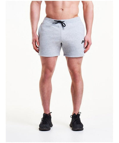 Pursue Fitness Icon Tapered Shorts Grey